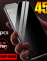 cheap -OnePlus Screen Protector OnePlus 7 Pro High Definition HD Front Screen Protector 2 pcs Tempered Glass Anti Peeping