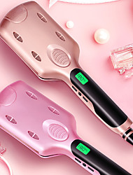 cheap -Ceramic LCD Curling Iron Egg Roll Straightener Three-tube Wave Dry and Wet Dual-use Curling Iron