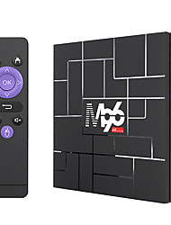 cheap -M96 TV BOX Android 9.0 2G16G 5G Dual-Band WiFi Hotspot Set-Top Box TV Box with Infrared Remote Control