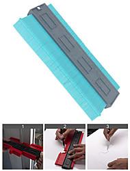 cheap -Plastic Contour Gauge 10 Inch Profile Gauge Measure Ruler Contour Duplicator for Precise Measurement Tiling Laminate Wood Marking Tool