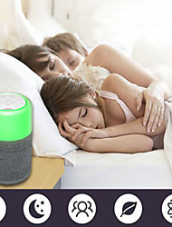 cheap -White Noise Sound Machine with Mood Light Natural Sounds & Music Baby Sleep sound Machine, Adults Stress relieving
