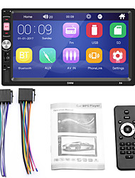 cheap -1 Din X4 7 Inch MP5 Player 2Din Autoradio Bluetooth FM AUX USB TF Card Car Radio Multimedia Carplay  Auto Radio 12V
