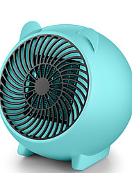cheap -500W Electric Fan Heater Portable MIni Heater Desktop Heating Warm Air Fan Home Office Room Heaters Handy Air Heater Warmer