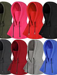 cheap -TCAHCC Men's Women's Hiking Cap Ski Hat Ski Balaclava Hat Balaclava Cap 1 Flounced Winter Outdoor Thermal Warm Breathable Breathability Soft Skull Cap Beanie Classic Wool Corduroy Black Red Fuchsia
