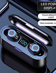 cheap -F9-8 Oring Wireless Earbuds TWS Headphones Bluetooth5.0 Stereo with Volume Control with Charging Box Mobile Power for Smartphones Smart Touch Control for Mobile Phone