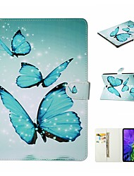 cheap -Case For Apple iPad Air 4 (2020) 10.9'' / iPad mini 5 7.9'' / iPad Pro (2020) 11'' Shockproof / with Stand / Flip Full Body Cases Butterfly / Animal / Skull PU Leather