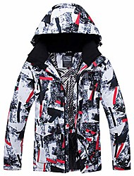 cheap -men's ski jacket and pants set waterproof mountain snow snowboard jacket winter outdoor windproof snowsuit
