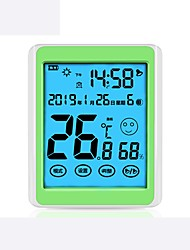 cheap -High-precision Alarm Clock With Time Temperature And Humidity Meter New Product 916 Indoor Children's Electronic Digital Display Temperature And Humidity Meter