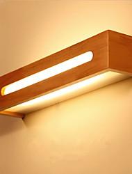 cheap -Led Solid Wood Wall Lamp Nordic Staircase Solid Wood Wall Lamp Bedroom Bedside Lamp  Dressing Table Bathroom Mirror Headlamp