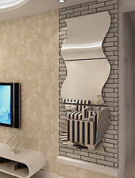 cheap -Wall Stickers Mirror Wall Stickers Decorative Wall Stickers, Acrylic Home Decoration Wall Decal Wall Decoration 1pc