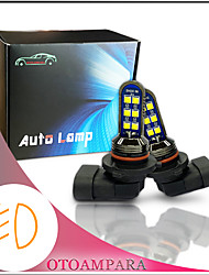 cheap -OTOLAMPARA 1 Pair Car LED Fog Light 9006 12W Double Sides Lightness MINI Stylish Plug and Play Easy Installation Front Fog Light Bulb HB4