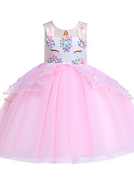 cheap -unicorn tutu dress legging girls tutu dress princess mythical gowns rainbow