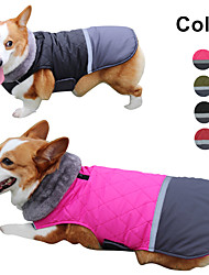 cheap -dog jacket winter coats for dogs sweater for cold weather coat for small medium large dogs,black
