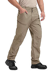 cheap -but& #39;s regular straight fit pants workwear multi-pocket comfort cotton trouser khaki