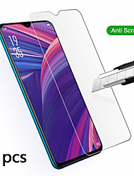 cheap -OPPO Screen Protector OPPO A5 2020 A9 2020 Realme 5 Realme X2 Realme XT Realme X2 Pro Realme X50 K5 Reno Ace Reno 3 A11 High Definition (HD) Front Screen Protector 3 pcs Tempered Glass