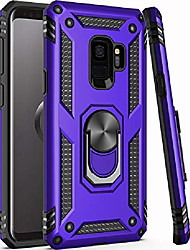 """cheap -galaxy s9 case, 15ft drop tested,military grade heavy duty protective cover with hard pc and soft silicone kickstand phone case for samsung galaxy s9 purple (small size 5.8"""")"""