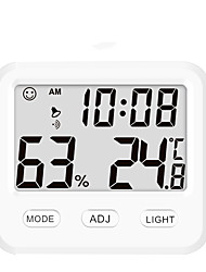 cheap -Electronic Indoor Temperature and Humidity Meter CH-915 New Product Small Home Use Backlit High Precision Digital Display Temperature and Humidity Meter