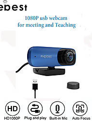 cheap -Webcam 8MP Full HD Web Camera Built-in Microphone USB Plug Auto Focus Web Cam For PC Computer Mac Laptop YouTube Camera