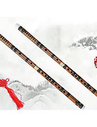 cheap -Flute C D E F G Handmade Chinese Style Bamboo Musical Instrument for Beginner Music Lovers