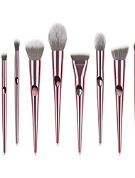 cheap -A Full Set of Soft 10 Pcs Thumb Makeup Brush Sets Laser Eye Shadow Brush Beauty Tools