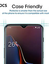 cheap -OnePlus Screen Protector OnePlus 7 Pro High Definition HD Front Screen Protector 3 pcs Tempered Glass