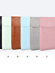cheap -11.6 Inch Laptop / 12 Inch Laptop / 13.3 Inch Laptop Sleeve / Tablet Cases PU Leather Contemporary / Fashion for Men for Women for Business Office Waterpoof Shock Proof