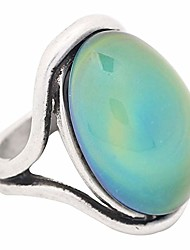 cheap -handmade polished antique sterling silver plating oval stone color change mood ring mj-rs022 (9)