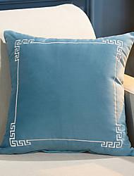 cheap -Swan Velvet Embroidered Modern Simplicity Pillow Case Cover Modern Sample Room Cushion Cover Living Room Bedroom Sofa Cushion Cover