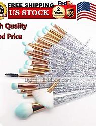 cheap -makeup brush, 20pcs blush brushes makeup set foundation colorful unicorn blending cosmetic eyeshadow brush face eyeliner shadow brow concealer lip brush tool beauty collection cosmetic brushes kit