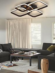 cheap -58cm LED Pendant Light Square Geometric Shapes Modern Nordic Style Flush Mount Lights Living Room Dining Room Bedroom Office Aluminum Silica Gel 110-120V 220-240V