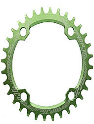 cheap -elite round oval 104mm bcd 32t 34t 36t 38t narrow wide single chainring for 8 9 10 11 12 speed mtb xc trail e-bike fat bike mountain bike bicycle