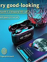 cheap -TWS G40 Wireless Earphone Bluetooth Earbuds 9D HD Touch Control LED Bluetooth 5.0 Earphone Universal Earphone