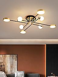 cheap -130 cm LED Ceiling Light Nordic Geometric Shapes Flush Mount Lights Living Room Bedroom Dining Room Metal Painted Finishes 110-120V 220-240V