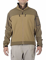 cheap -tactical men's chameleon long sleeve versatile softshell jacket, full zip with elastic cuffs and hidden pockets