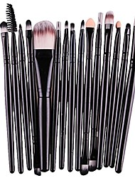 cheap -15 pcs/sets makeup brush set for eye shadow foundation eyebrow lip (pink2-shipped from usa)