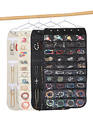 cheap -Jewelry Holder Necklace Bracelet Earrings Ring Storage Bag Organizer Display Jewellery