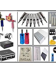 cheap -Professional Tattoo Kit Tattoo Machine - 2 pcs Tattoo Machines, High Speed / Professional Level / Voltage Adjustable Cast Iron # 2 cast iron machine liner & shader