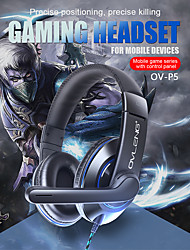 cheap -P5 Gaming Headset 3.5mm Headphone 3.5mm Microphone Stereo with Microphone for Gaming