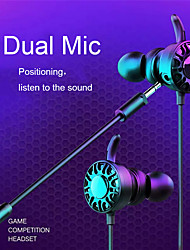 cheap -3.5mm Stereo Headset Gaming Earphones Wired Games in Ear Earphone Microphone Gaming Headset