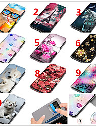 cheap -Case For Apple iPhone 12 / iPhone 12 Pro Max / iPhone 12 Pro Wallet / Card Holder / Shockproof Full Body Cases Animal / Cartoon / Flower PU Leather / TPU