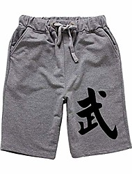 cheap -martial arts harem shorts - kung fu chinese bloomer trousers pants clothing for women men - cotton (gray, xl)
