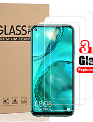 cheap -3 PCS Protector Screen for Huawei P40 Lite/P40/P30/P30 Lite/P20/P20 Lite/P20 Pro/P10/P10 Plus High Definition (HD) / 9H Hardness Tempered Glass