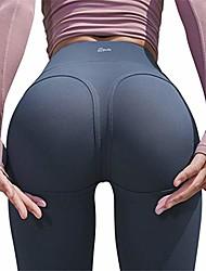 cheap -women's capri leggings butt lifting high waist cropped yoga pants, push up tights navy xl
