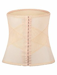cheap -women waist trainer corsets for weight loss (beige-2, s)