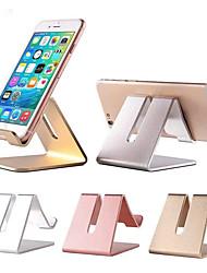 cheap -Aluminum Metal Phone Holder Desktop Universal Non-slip Mobile Phone Stand Desk Hold for iPhone IPad Samsung Tablet
