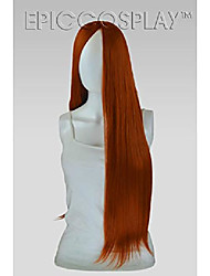 cheap -eros bang-less versatile cosplay wig (copper red)