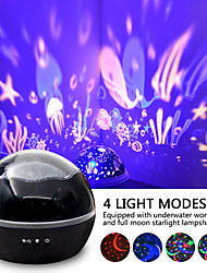 cheap -Star Porjection Colorful Rotating Night Light Projector Spin Starry Sky Star Master Children Kids Baby Sleep Romantic LED USB Star Lamp Chirstmas Gift