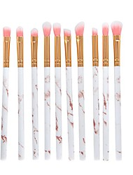 cheap -10 pcs makeup brush set professional face eye shadow eyeliner foundation blush lip makeup brushes powder liquid cream cosmetics blending brush tool make up brushes (gold)