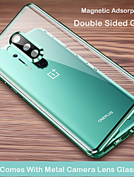 cheap -Magnetic Case for OnePlus 8 One Plus 8Pro Protection Camera 360 Double Sided Tempered Glass Magnetic Cover Protective Case