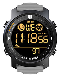 cheap -LAKER Men's Smartwatch Fitness Running Watch Bluetooth Waterproof Heart Rate Monitor Calories Burned with Camera Information Stopwatch Pedometer Call Reminder Alarm Clock Community Share / iOS